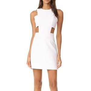 🆕Milly White Open Side Panel Dress